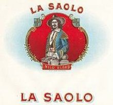 La Saolo Inner Cigar Box Label