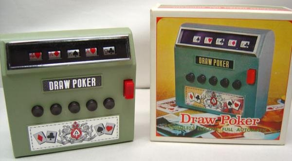 Draw Poker Game in Box 1971