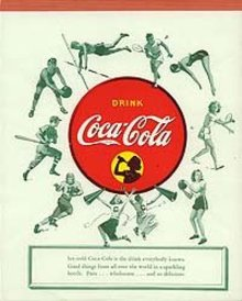 Coca-Cola Soda Tablet 1940s