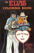 Elvis Presley Coloring Book 1980s
