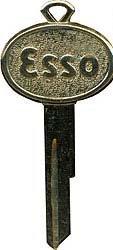 Esso Gas Station Key 1960