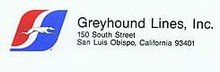 Greyhound Bus Stationery 1970s