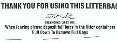 Greyhound Bus Bags