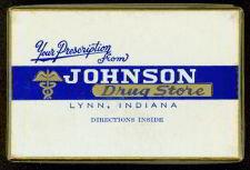 Johnson Medicine Drug Store Box 1920