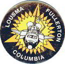 Space Shuttle Columbia Pinback Pin 1982