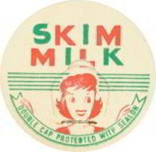 Skim Milk Dairy Cap Pog