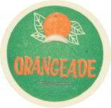 Orangeade Milk Dairy Cap Pog
