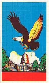 Eagle Broom Labels 1940s