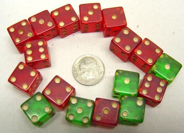 Mini Dice Toys - 1940s
