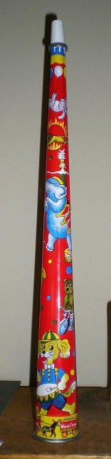 Tin Circus Horn toy
