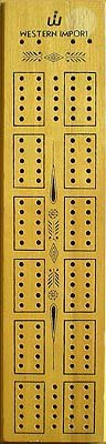 Wood Cribbage Toy - 1940s