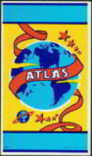 Atlas Broom Label 1940s
