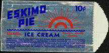 Eskimo Pie Ice Cream Bag 1940s