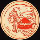 Iroquois Beer  Ale Tray Liner 1940s