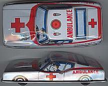 Ambulance Tin Litho Car