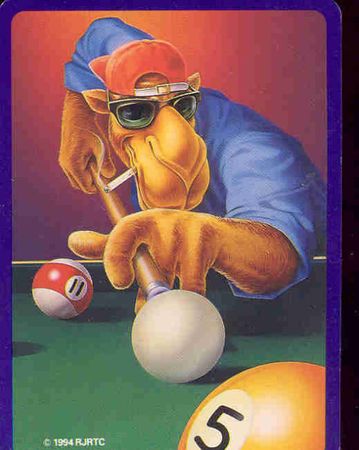 Joe Cool Camel CIgarette Playing Card