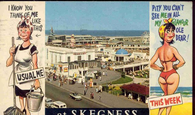 Sexy Comical Postcard 1975 Posted
