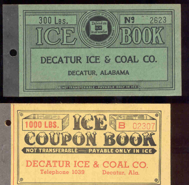 Ice House Booklets Alabama - Vintage 1920s