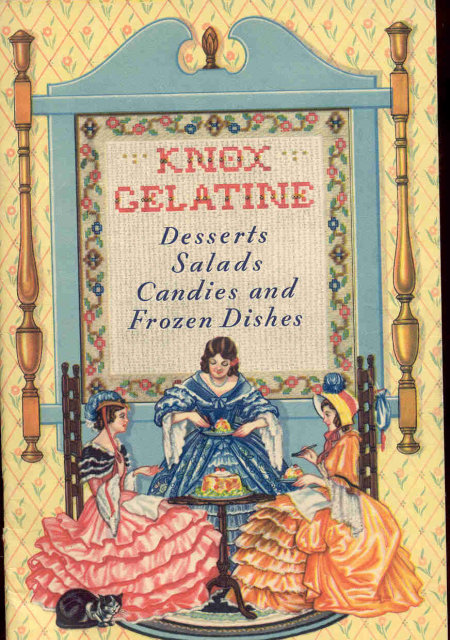 Knox Gelatin Recipe Booklet 1936