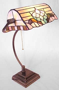 Tiffany Style Glass Lamp - New