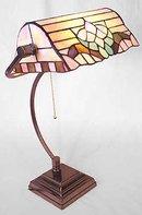 Tiffany Style Glass Lamp - New