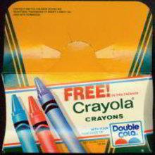 Double Cola Soda Crayola Crayons Giveaway Card