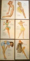 Varga Calendar Girl Prints 1948
