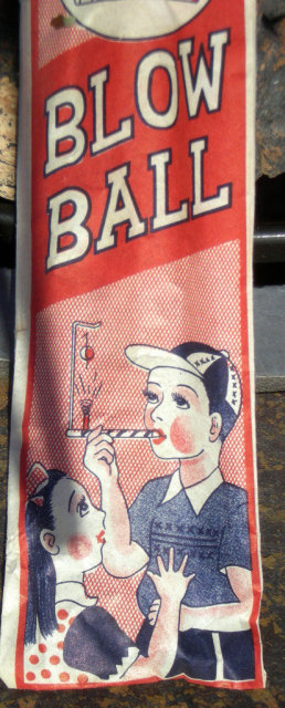 Japan Blow Ball Toy 1940s