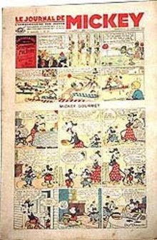 Mickey Mouse Comic Newspaper 1936 French