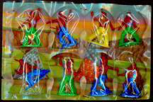 West German Toy Store Display - Cowboys