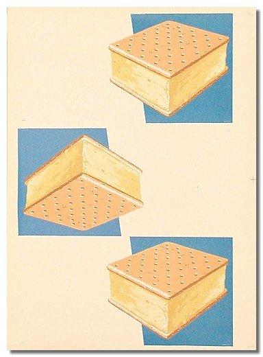 Vanilla Ice Cream Sandwich Poster