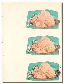 Ice Cream Plates Poster 1950