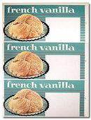 Vanilla Ice Cream Poster