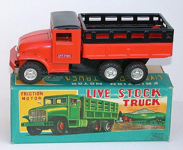 Haji Farm Toy Truck in Original Box