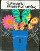 Hippie Light Switch Plate - Psychedelic