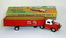 Tin Friction Toy Grain Hauler Truck 1950s
