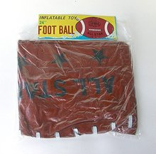 Inflatable Airship Football Parrot Toys 1950 1960