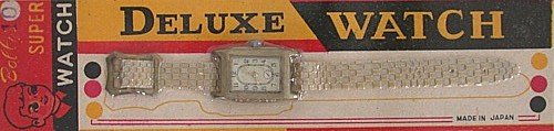 1950s Toy Watches on Cards Japan