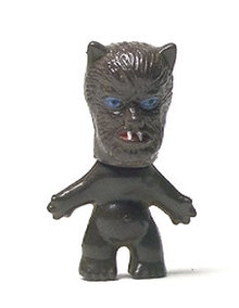 Monster Halloween Frankenstein Figurine Toys 1960