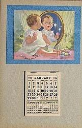 Mable Rollin Harris Baby Calendar 1956