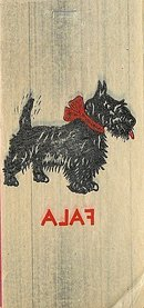 Scottie Dog Iron On Decal Toys 1940s