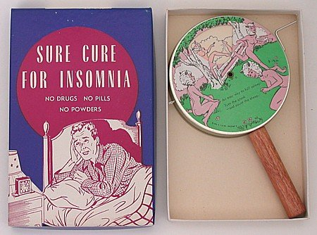 Joke Box Cure for Insomnia Toy 1950s