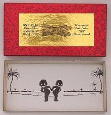Joke Box Negro Toy Novelty 1940s