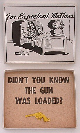 Joke Box Pregnant Toys 1950s