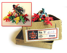 Tiny Donkey Charms Toys - 1950s Japan