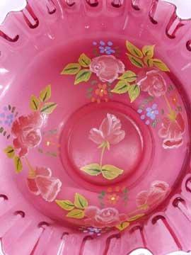 Glass Bowl - Rose