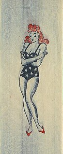 Pinup Girls Toy Iron-On Transfers 1940s