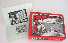Boo Boogy Mans Puzzle Toy Game 1940s