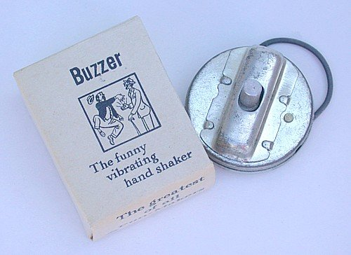 Trick Joke Buzzer Toy Japan 1950s