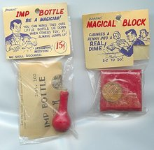Magic Imp Bottle and Block Toys